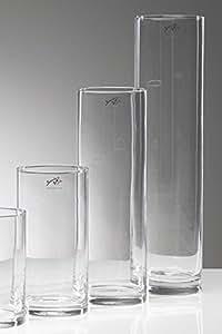 Cilindro In Vetro Clear Diametro 10 Cm Altezza 30 Cm