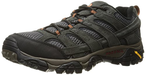 Merrell Moab 2 Ventilator J06015 ,Zapatos para hombre ,Zapatillas de senderismo, botas de montaña Beluga ( gris) (42)