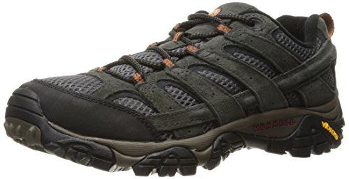 Merrell Moab 2 Vent-M, Herren Trekking- & Wanderschuhe, Schwarz - Beluga - Größe: 41.5 EU