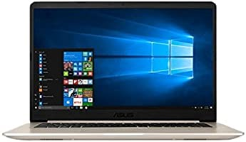 "Asus Vivobook S15 S510UA-BQ462T Ultrabook 15,6"" Full HD Or Métal (Intel Core i7, 8 Go de RAM, SSD 256 Go, Intel HD Graphics 620, Windows 10) Clavier Français AZERTY"