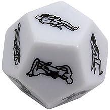 MMRM 12 de superficie juego adulto Dado Coquetear juguete de la diversión blanco para la fiesta