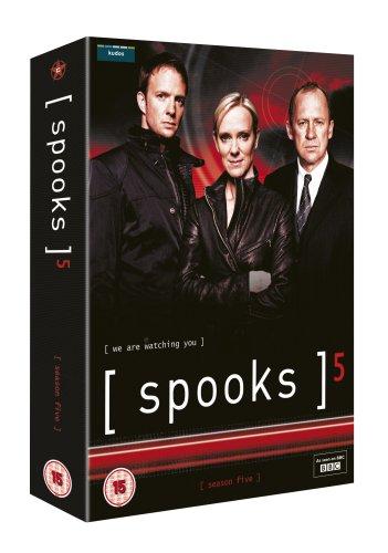 Spooks - Complete Series 5 [5 DVDs] [UK Import] Simpsons-box-set