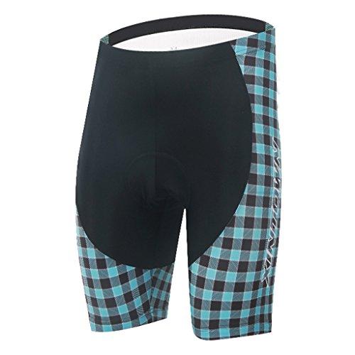 TeyxoCo Herren Tuxedo Radsport Bekleidung Padded Shorts S (Tuxedo Trikot Kostüm)