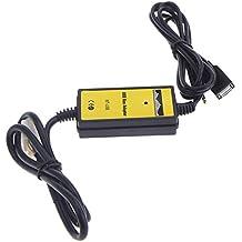 Entrada auxiliar MP3CD Cambiador de adaptador de interfaz USB Cable + lector para Honda Accord 3,5mm AUX