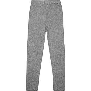 normani Kinder Thermohose für Jungen und Mädchen mit Innenfleece – Lange Unterhose aus ÖkoTex100