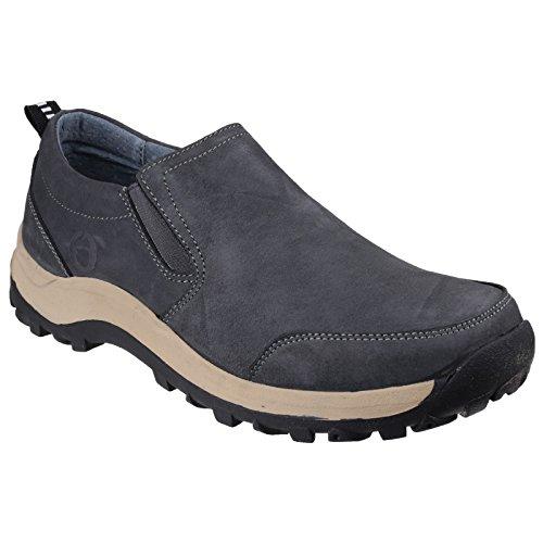 Cotswold nombreux Mens confortables Slip sur chaussure Brown