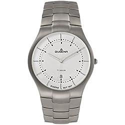 Dugena Herren-Armbanduhr Titan Analog Quarz Titan 4460480