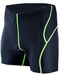 Herren Fahrrad Unterhose mit Sitzpolster Radunterhose Underpant Funktionsunterwäsche