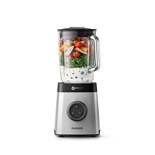 41OYmBOv2RL. SS500  - Philips HR3652/01 Blender with ProBlend Technology, Other, 1400 W, Silver