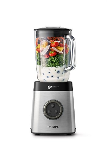 Philips Avance Collection Blender with ProBlend 6 3D Technology, 1400 W, Silver – HR3652/01