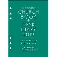 The Canterbury Church Book & Desk Diary 2019 A5 Personal Organiser Edition