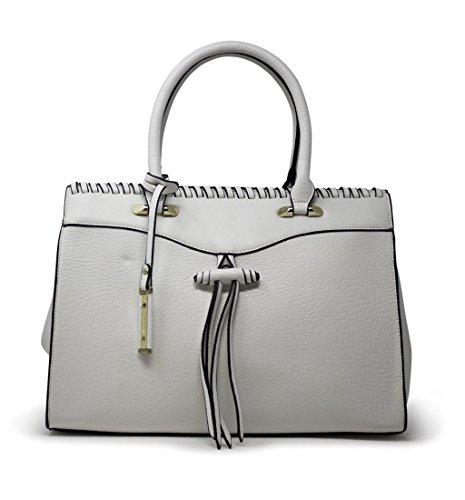 Bella Bags , Damen Tote-Tasche One Size, Weiß - weiß - Größe: One Size (Tote Bag Bella)