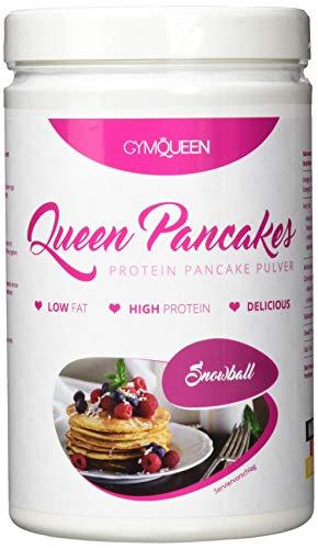 GymQueen Protein Pancakes 500g | Backmischung für leckere Protein Pfannkuchen und Waffeln | Zuckerarm & wenig Fett | Pancake Mix mit 54{5acf7c8e2dcee6ade6c8e012bb274e863f1ab36271699368a94964c7bb54f72c} Eiweiß | einfach und schnell zubereitet | Snowball