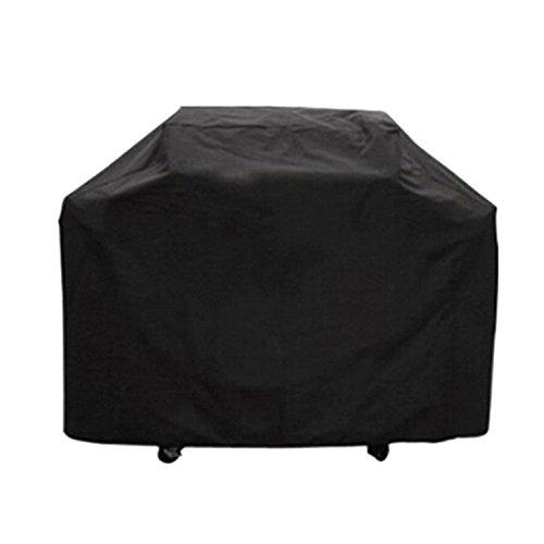 Yunhigh rechteck charbroil bbq bedeckung wasserdichtes schweres grill grill cover protektor für weber holland jenn air brinkmann 46 inch height- xxlarge (black)