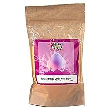 Lickleys Plátano Sazonado Algodón de Azúcar Azúcar, para para Hogar Algodón de Azúcar Hacer y