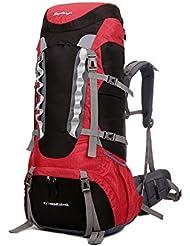 60L senderismo mochila/bolsa/bolsa de senderismo/senderismo/Escalada Mochila/Camping mochila/mochila de viaje de montañismo