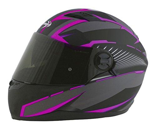 Stormer Casco Integrale Pusher Xenon Rosa Opaco Dimensioni decorativo rosa opaco, taglia XS