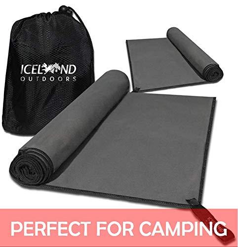 Toalla de microfibra para viajes, camping, playa y gimnasio – De tam