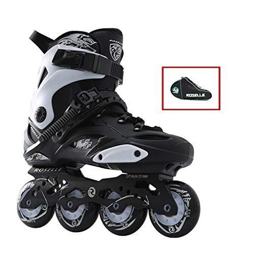 LRR Inline-Skates, Kinder Erwachsener Rollschuhe, geeignet for Männer und Frauen und Anfänger Eiskunstlauf (Color : B, Size : EU40)