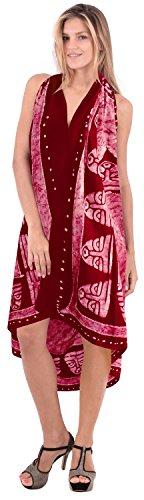 reiner einteiliger Badeanzug Bikini Schlitz Rock wickeln Beachwear Frauen  Baumwolle vertuschen Hinreißender Rot