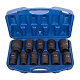 11x Koffer Kraftschrauber-Satz Steckschlüssel Set 1
