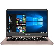 "ASUS UX410UA-GV112T - Ordenador Portátil Ultrafino de 14"" Full HD IPS (Intel Core i5-7200U , 4 GB RAM, 128 GB SSD, Intel HD Graphics 620, Windows 10 Home) Oro rosa - Teclado QWERTY Español"