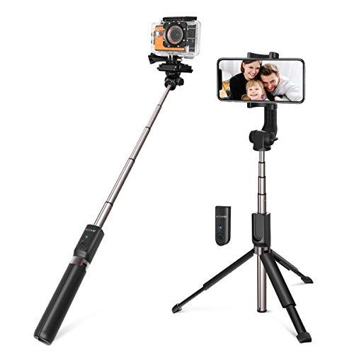 Palo Selfie Trípode para Cámara, Gopro, iPhone, Android - BlitzWolf 5