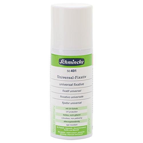 Schmincke Universal Fixativ AEROSPRAY 150 ml - nicht gilbendes Fixiermittel ideal als Zwischenfixativ