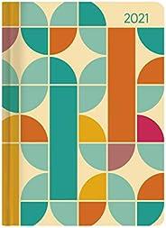 Alpha Edition - Agenda Settimanale Ladytimer 2021, Formato Tascabile 10,7x15,2 cm, Retro, 192 Pagine