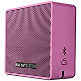 Energy Sistem Music Box 1+ V4.1 5 W Portable Bluetooth Speaker with Micro SD MP3 FM Radio Audio-in (Grape Pink)
