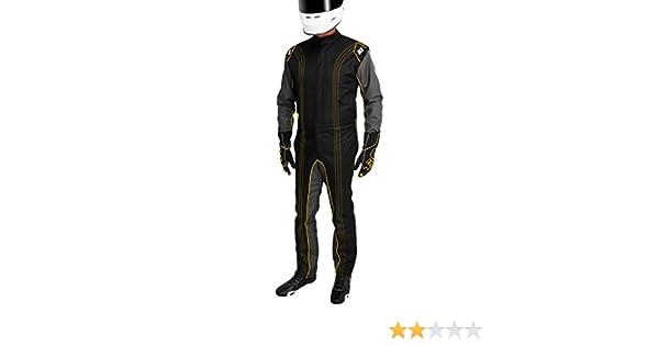 Yellow, XX-Large K1 Race Gear CIK//FIA Level 2 Approved Kart Racing Suit