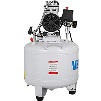 KITGARN 8.8 Gallon Ultra Quiet Oil-free Air Compressor 40L Tank Silent Air Compressor 850W Oil free Compressor Low noise(40L)