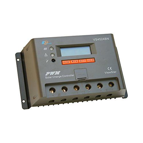 40A solar-Ladegerät/Laderegler (mit LCD-display, erweiterte Kontrolle, für 12/24 V (DE) solar-Systeme im Wohnwagen, Wohnmobil oder Boot 40a 0,5 V Ladegerät