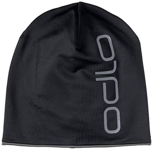 Odlo Hat Hat CERAMIWARM Reversible Mütze, Black Steel Grey