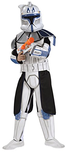Clone Trooper Captain Rex Star Wars™ Kostüm für Kinder - 5-7 Jahre (Star Wars Clone Trooper Kostüm Kinder)