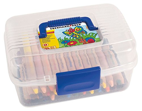 Eberhard Faber 518920 - Mini Kids Club, 36 Buntstifte in Plastikbox