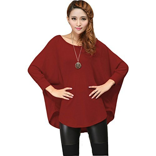 CHFF888 -  Maglione  - Donna Russet Red XX-Large