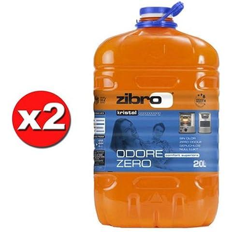 x 2 ZIBRO KRISTAL Combustibile liquido universale x quals. stufa