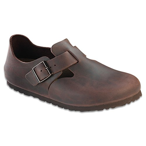 Birkenstock London Clog Habana Oiled Leather