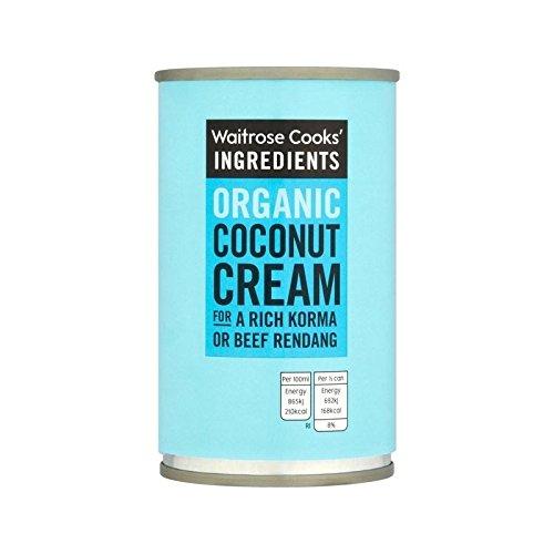 Les Ingrédients De Cuisiniers Mini-Bio Crème De Coco Waitrose 160Ml - Paquet de 6
