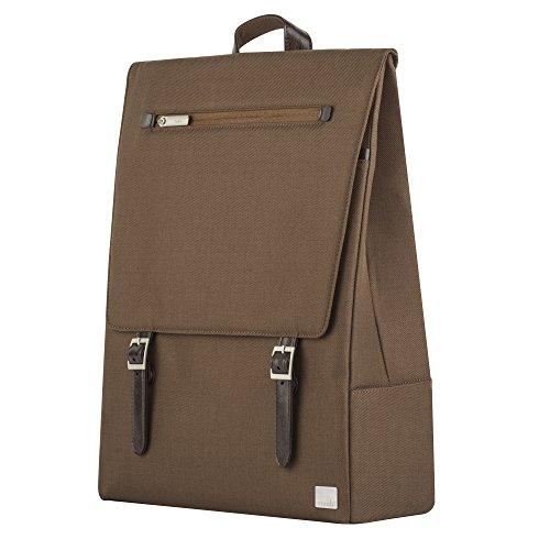 """41OZ%2Bu1KCoL - [Gravis] Moshi Helios Designer Rucksack für MacBook Pro 15"""", braun für 99€ statt 113,99€"""
