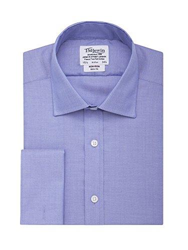 tmlewin-herren-bugelfreies-slim-fit-hemd-mit-fischgratmuster-blau-16