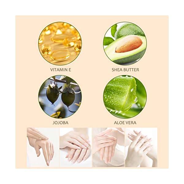 Crema de manos, 10pcs / set Mini crema de manos Crema hidratante nutritiva para el cuidado de las manos para hombres Mujeres Hidratante perfecto para el conjunto de bolsos Set de regalos Set de viaje