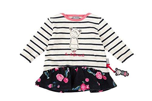 Sigikid Mädchen Kleid Baby, Mehrfarbig (Melange Art 472bl 432) 68