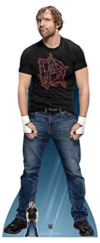 (Star Cutouts SC1204 Offizielle WWE-Figur Dean Ambrose, 193 cm hoch, mehrfarbig)
