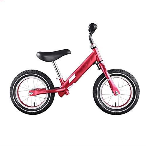 WHTBOX Balance Fahrrad HöHenverstellbar,Kleinkind Laufrad,Lernfahrrad FüR Jungen Und MäDchen FüR Kleinkinder Und Kinder Im Alter Von 2, 3, 4 Und 5 Jahren,Erste TrainingsfahrräDer Ohne Pedale,Red