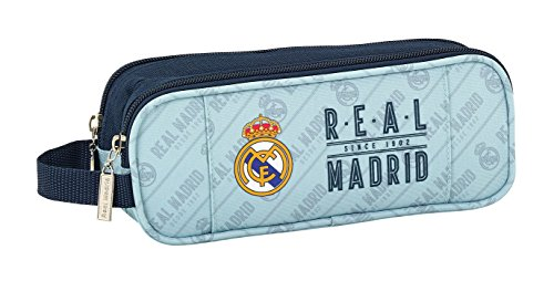 Safta Estuche Real Madrid Corporativa Oficial Escolar 210x60x80mm