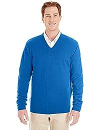 Harriton mens Pilbloc V-Neck Sweater (M420)