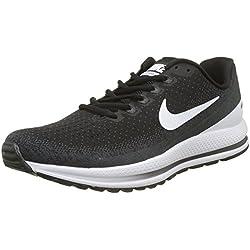 Nike Air Zoom Vomero 13, Zapatillas de Entrenamiento para Hombre, Negro (Black/White-Anthracite 001), 45 EU