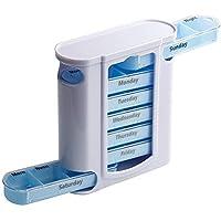 Kaxich Pillendose 7 Tage Wasserdicht Pillenbox Tablettenbox Tablettendose Wocheneinteilung Pillendosen preisvergleich bei billige-tabletten.eu